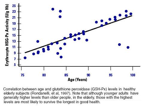 Glutathione and Longevity